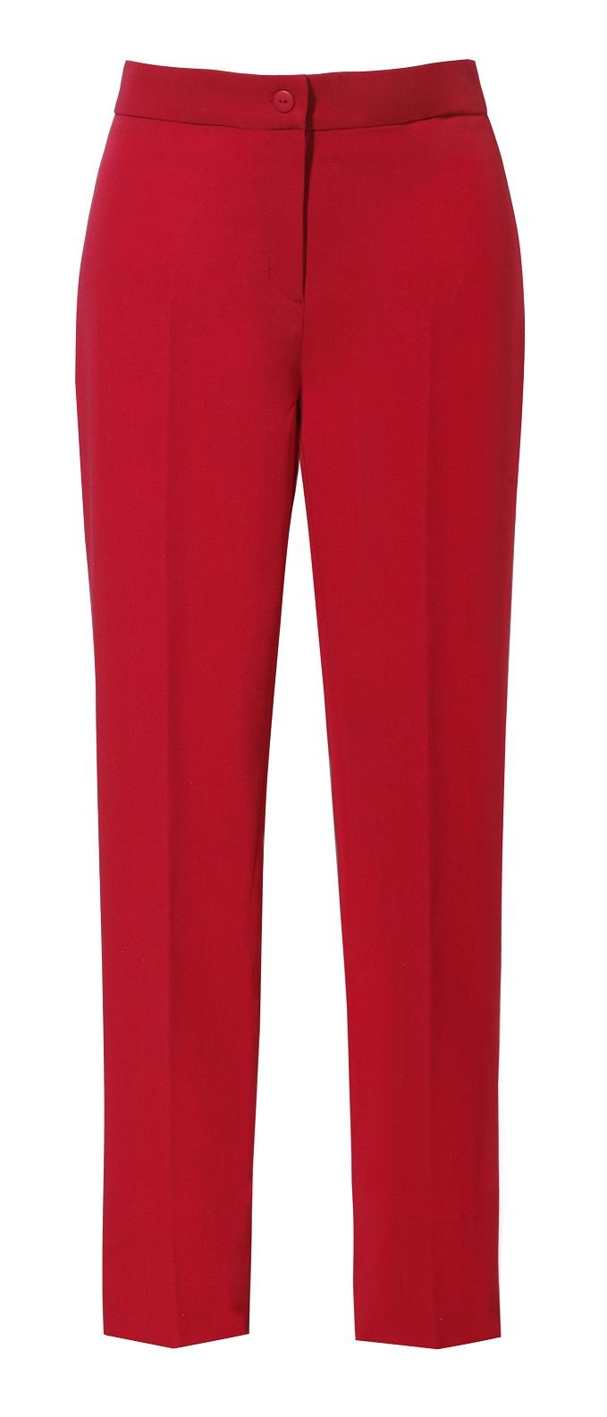 412c7dd5868783 Spodnie cygaretki czerwone - Zaquad