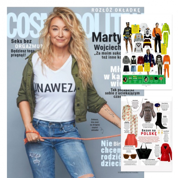 Cosmopolitan publikacja Zaquad